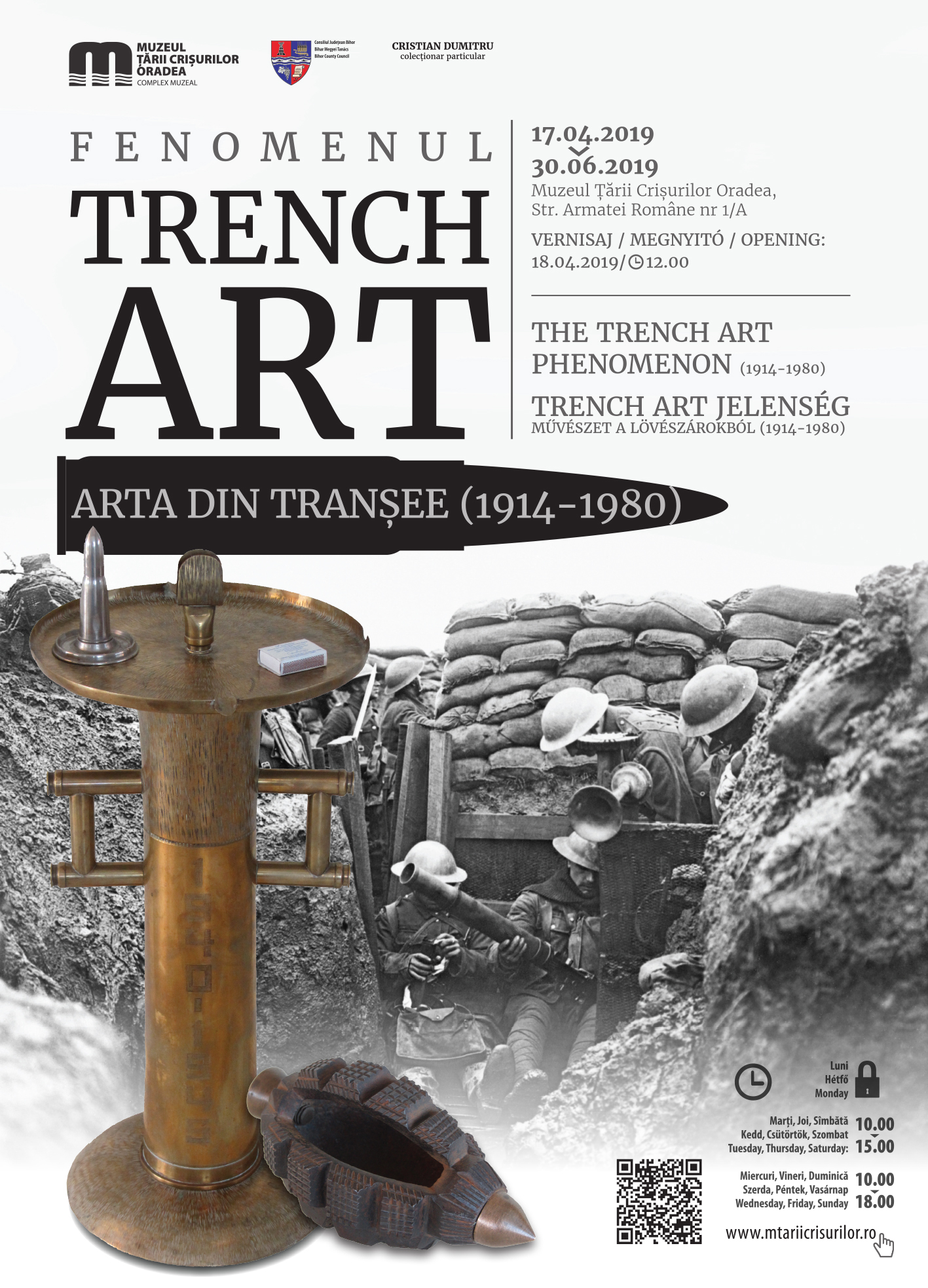 Afis Trench art 50x70