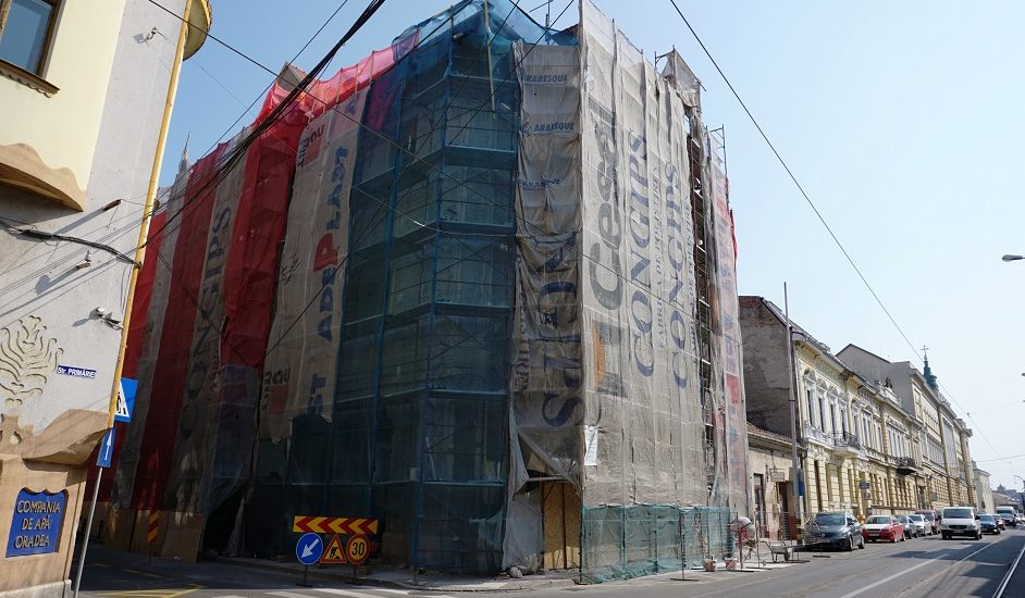 Primaria Oradea continua programul de reabilitare a cladirilor istorice din oras