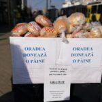 """Joi, 23 mai, o noua editie a proiectului """"Oradea donează o pâine"""""""