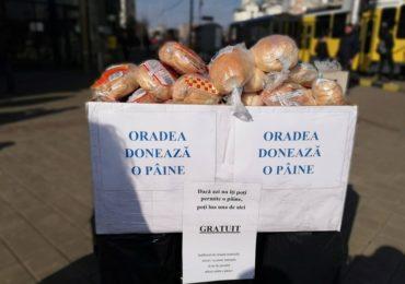 """Miercuri 26 Iunie 2019, între orele 15-17, se va desfășura a sasea editie a proiectului """"Oradea donează o pâine""""."""