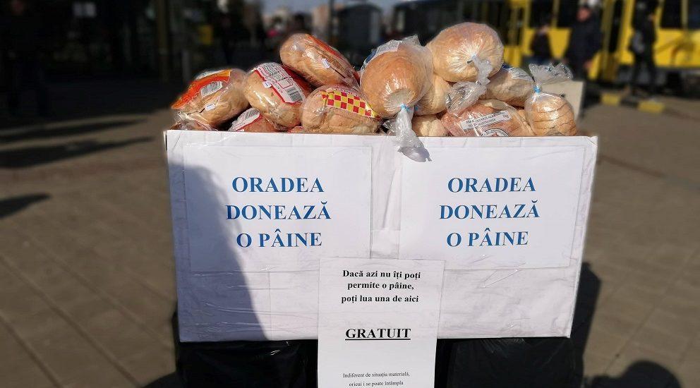 """""""Oradea doneaza o paine"""" la editia a patra. """"Bunătatea este o limbă pe care surdul o poate auzi și orbul o poate vedea."""" – Mark Twain"""