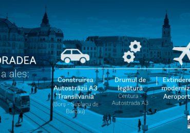 Oradenii si-au ales prioritatile in proiectele strategice in valoare de peste 2,5 miliarde euro. Vezi lista completa!