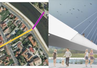 A fost aprobat proiectul realizarii coridorului pietonal si ciclistic intre Cetatea Oradea si Aquapark