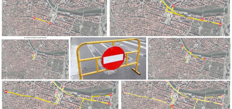 Restrictii de circulatie pe unele artere din Oradea, in perioada 18-20 aprilie