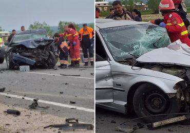 Accident mortal pe DN 76, in urma unei coliziuni frontale la intrarea in Beius. Traficul este blocat total pe ambele sensuri