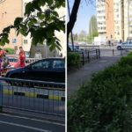 Un nou accident pe Podul Carol la trecerea de pietoni. O femeie a ajuns la spital