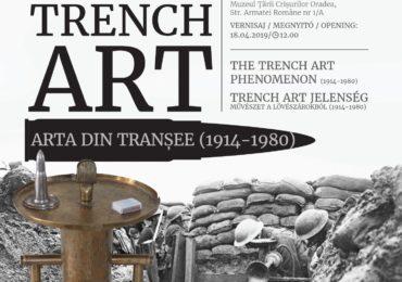 """""""Arta din transee"""", expozitie inedita la Muzeul Tarii Crisurilor, cu ocazia Centenarului eliberarii Oradiei"""