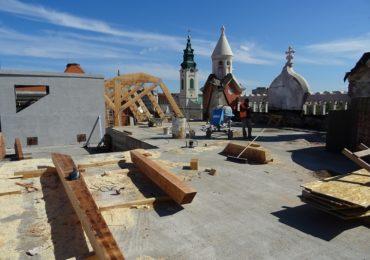 lucrari acoperis palatul episcopal Piata unirii (2)