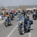 Polițiștii rutieri, cei de prevenire bihoreni și polițiștii ungari, alături de motocicliști, la debutul sezonului motociclistic 2019 în județul Bihor.