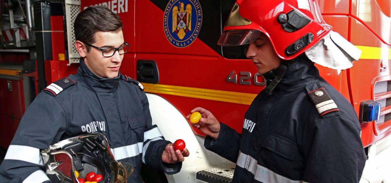 Misiunile si recomandările pompierilor militari pentru prevenirea incendiilor în perioada Sărbătorilor Pascale
