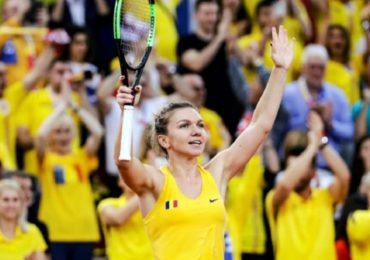 Franta-Romania 1-1, in prima zi a semifinalei FED cup. Simona castiga, Buzarnescu pierde.