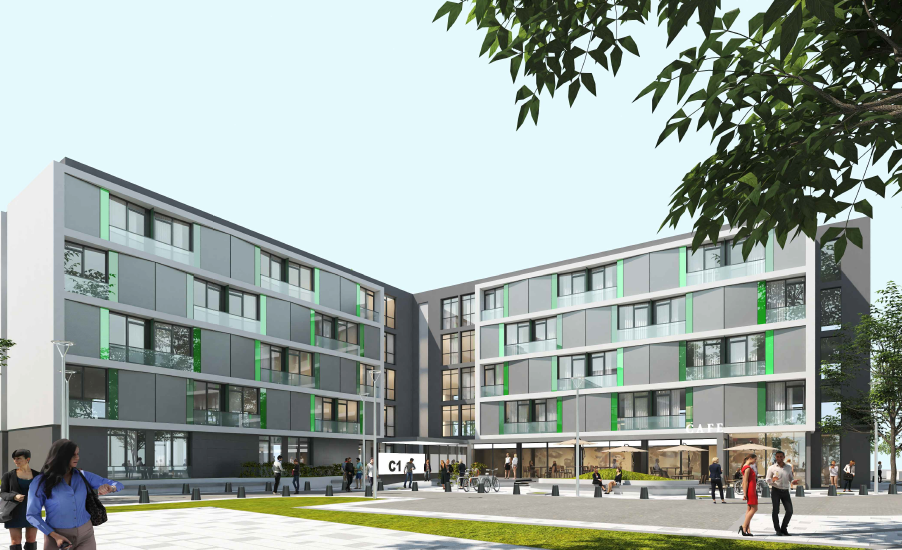 Primaria Oradea va construi doua camine studentesti in Campusul Universitar