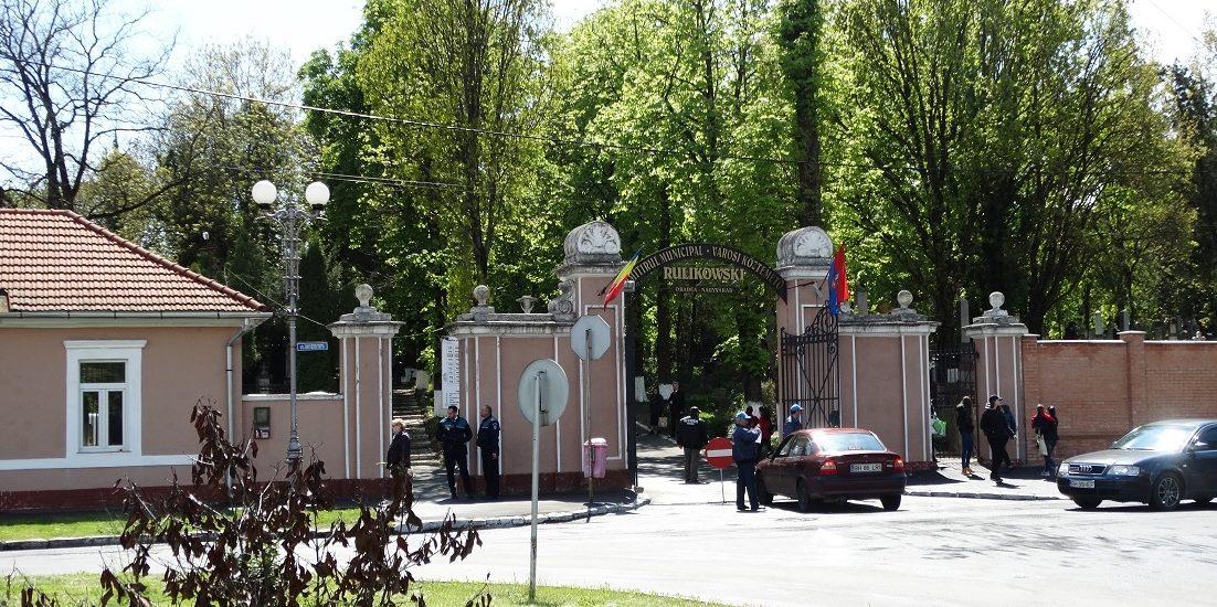 Maine, 5 mai 2019, accesul autovehiculelor in Cimitirul Rulikowski este interzis