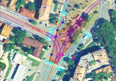 Se reduce zona de trafic afectată de lucrări în intersecția Calea Aradului – str. Oneștilor – str. Aviatorilor