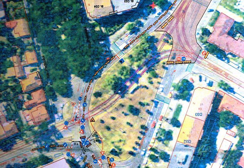 Circulatia rutiera in intersectia Calea Aradului – str. Oneștilor – str. Aviatorilor va fi deviată timp de 2 luni