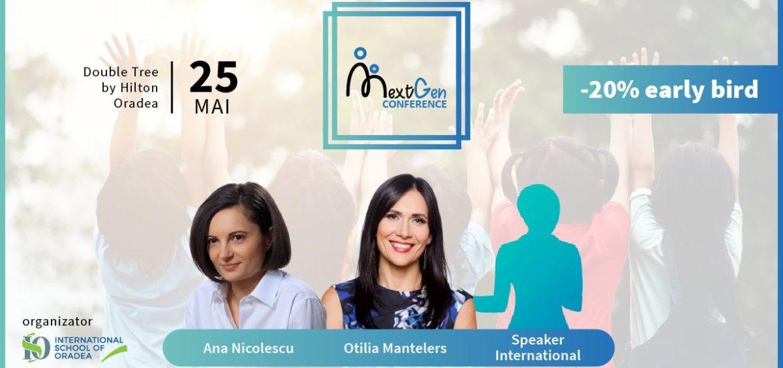Conferința NextGen- Educating the Next Generation Kids, organizata de International School of Oradea