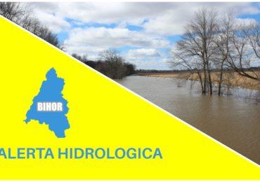 COD GALBEN de viituri rapide si inundatii locale pe Crisul Negru si afluentii lui din judetul Bihor