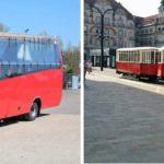 Oradenii si turistii aflati in Oradea pot face plimbari de agrement cu Autobuzul Turistic si Tramvaiul de Epoca