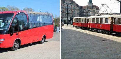 O.T.L. invită orădenii, weekend, la plimbări de agrement cu Autobuzul Cabrio şi cu Tramvaiul de Epocă.
