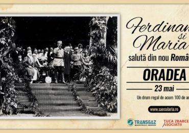 La Oradea, Ferdinand și Maria salută din nou România! Un drum regal de acum 100 de ani.