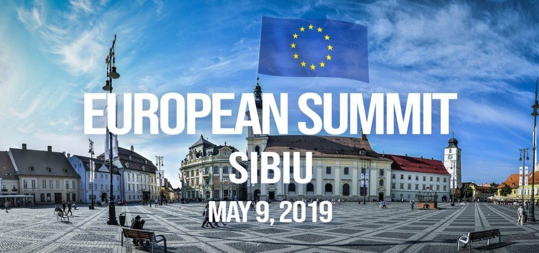 Textul Declaratiei de la Sibiu, de la Summitul UE