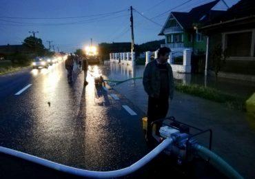 gospodarii si drumuri inundate bihor (2)