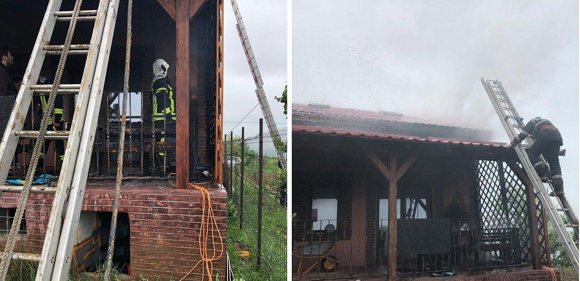 Atentie la aparatele electrice! Un incendiu in Paleu putea sa lasa o familie fara casa