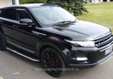 Un Land Rover de 25.000 euro, furat din Marea Britanie si descoperit in Vama Bors