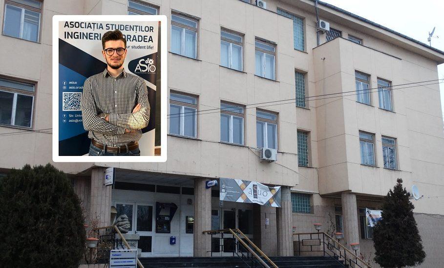 Alin Cîndea este noul Președinte al studenților din Senatul Universității din Oradea