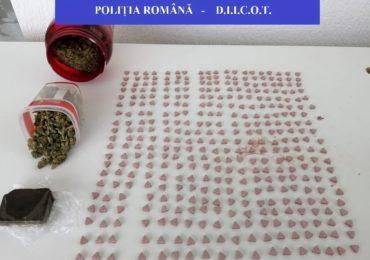 Un barbat din Marghita si un tanar din Petreu, judetul Bihor, retinuti pentru trafic de droguri de mare risc