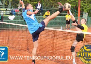 Campionatul de tenis cu piciorul: etapa a II-a se organizeaza in weekend la Oradea