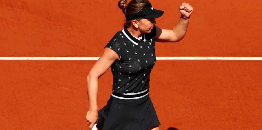 Simona Halep a spulberat-o pe Lesia Tsurenko in turul 3 si s-a calificat in optimi la Roland Garros (VIDEO)