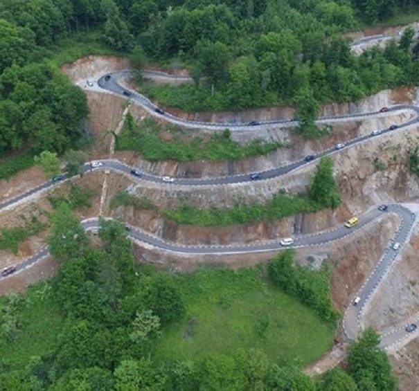 Un nou drum spectaculos a fost construit in Romania (FOTO / VIDEO)