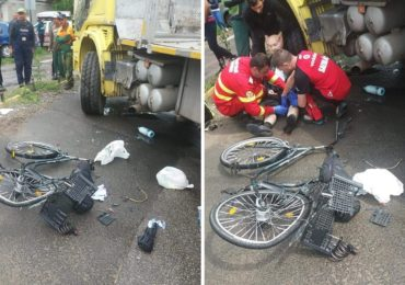 Un barbat a ajuns in stare grava la spital dupa ce a fost lovit de un camion in Beius