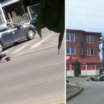 Accident grav in Beius, un motociclist a ajuns la spital, cu multiple leziuni, dupa o coliziune frontala cu un autobuz