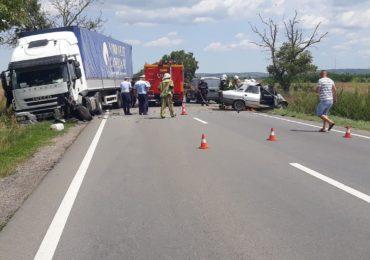 Accident mortal langa Aeroportul Oradea. Traficul este blocat pe DN 79