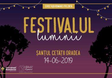 Vineri, 14 iunie, Santul Cetatii Oradea va gazdui a XII-a editie a Festivalului Luminii.