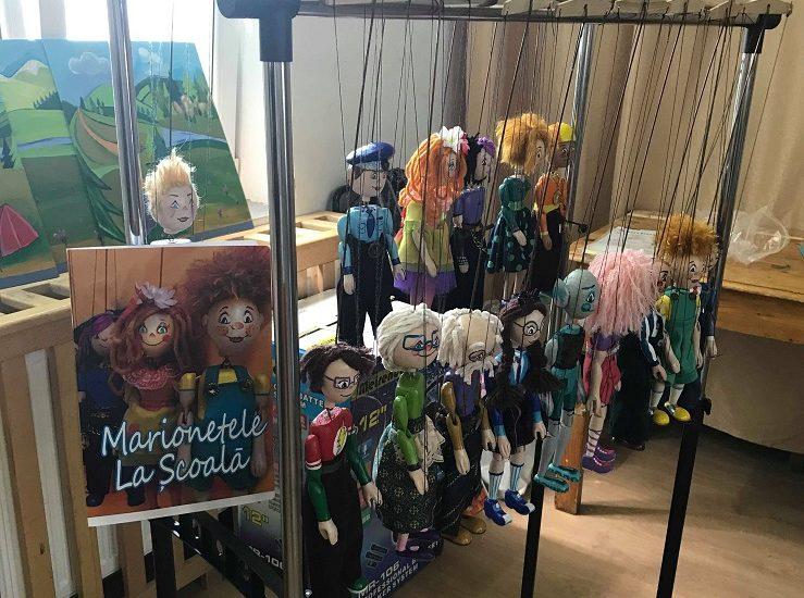 """Proiectul """"Marionetele La Școală"""" se apropie de final"""