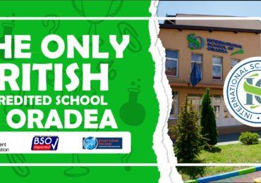 International School of Oradea devine 100% acreditată