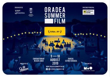 Oradea Summer Film 2019. Programul celor 10 zile de film din Parcul Cetatii