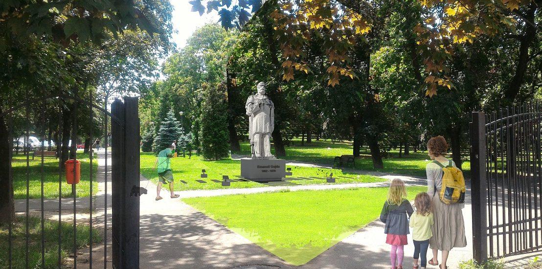 Primăria Oradea îi invită pe orădeni sâmbătă, 5 octombrie la dezvelirea statuii lui Emanuil Gojdu