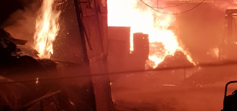 Incendii în Tileagd, Aleșd și Salonta, unde o persoana a fost ranita.