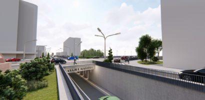 Incepand cu 15 noiembrie incep restrictiile in zona Magheru-Pod Dacia. De vineri nu mai circula tramvaiele pe Bdul Magheru