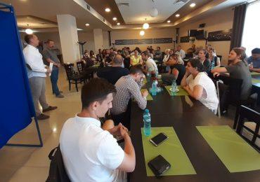 USR Oradea si-a ales noua conducere. Marius Sovarschi a preluat functia de presedinte USR Oradea