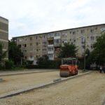 Parcari si parc de cartier pe strada Morii din Oradea