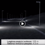 Spectaculos! Primaria construieste un pasaj subteran, de 125 de m, in dreptul culoarului de aterizare a avioanelor (VIDEO)