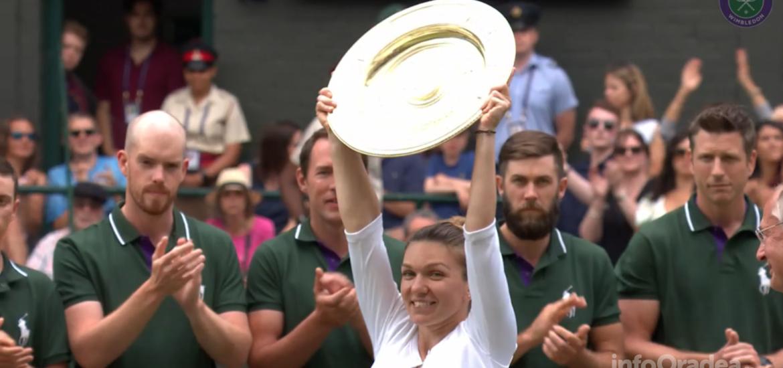 Victorie fantastica a Simonei Halep in finala de la Wimbledon, in fata Serenei Williams 6-2/6-2