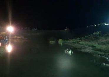 Trupul unui minor inecat intr-un lac, scos de scafandrii pompieri bihoreni de la 2,5 m adancime