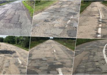 PNL Bihor acuza dezastrul de pe drumurile din judet, in timp ce CJ Bihor asfalteaza un drum ce a fost reabilitat recent
