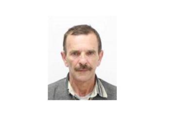 Politia Oradea cere ajutorul populatiei pentru a gasi un barbat disparut